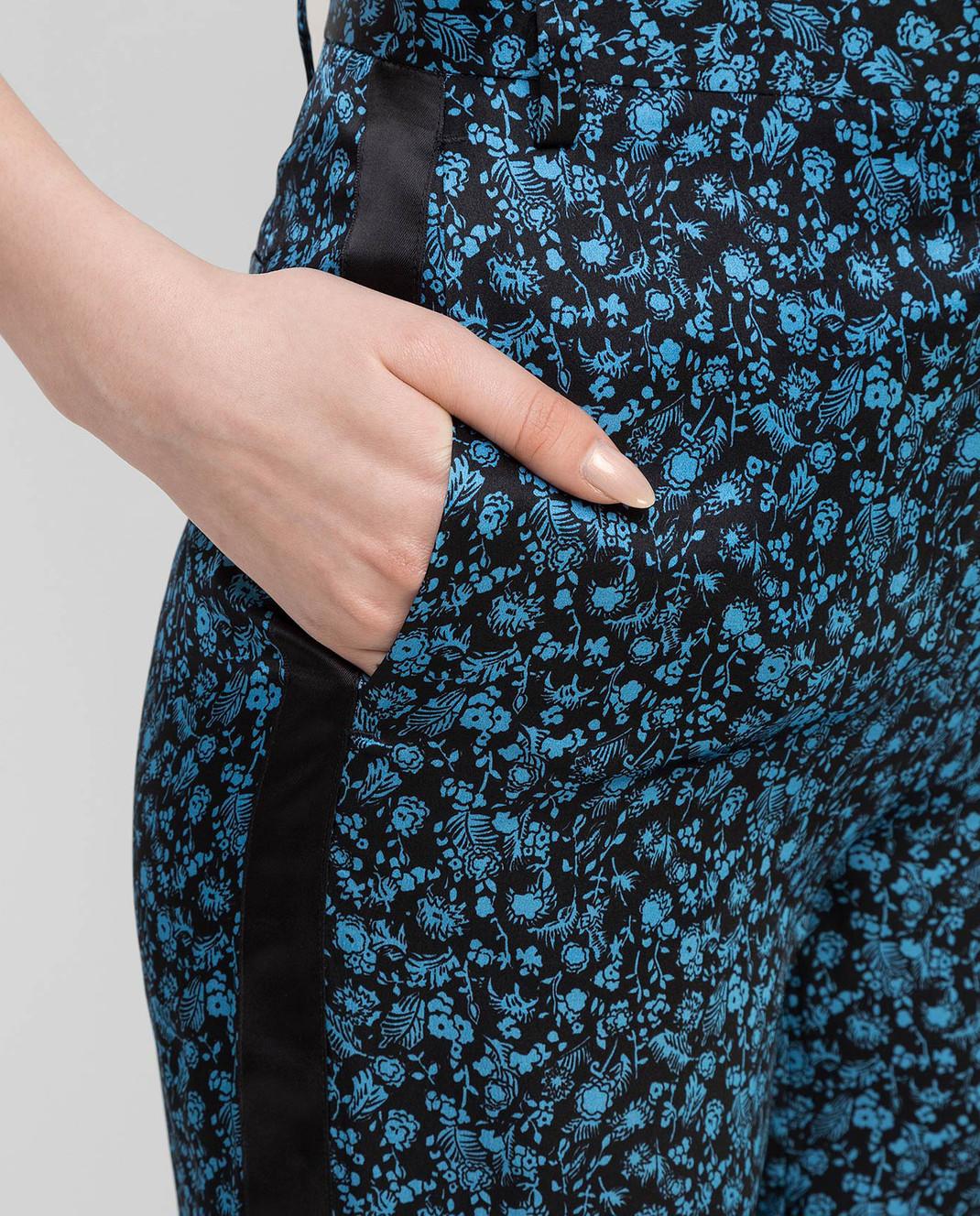 Victoria by Victoria Beckham Брюки с цветочным узором TRVV070B изображение 5