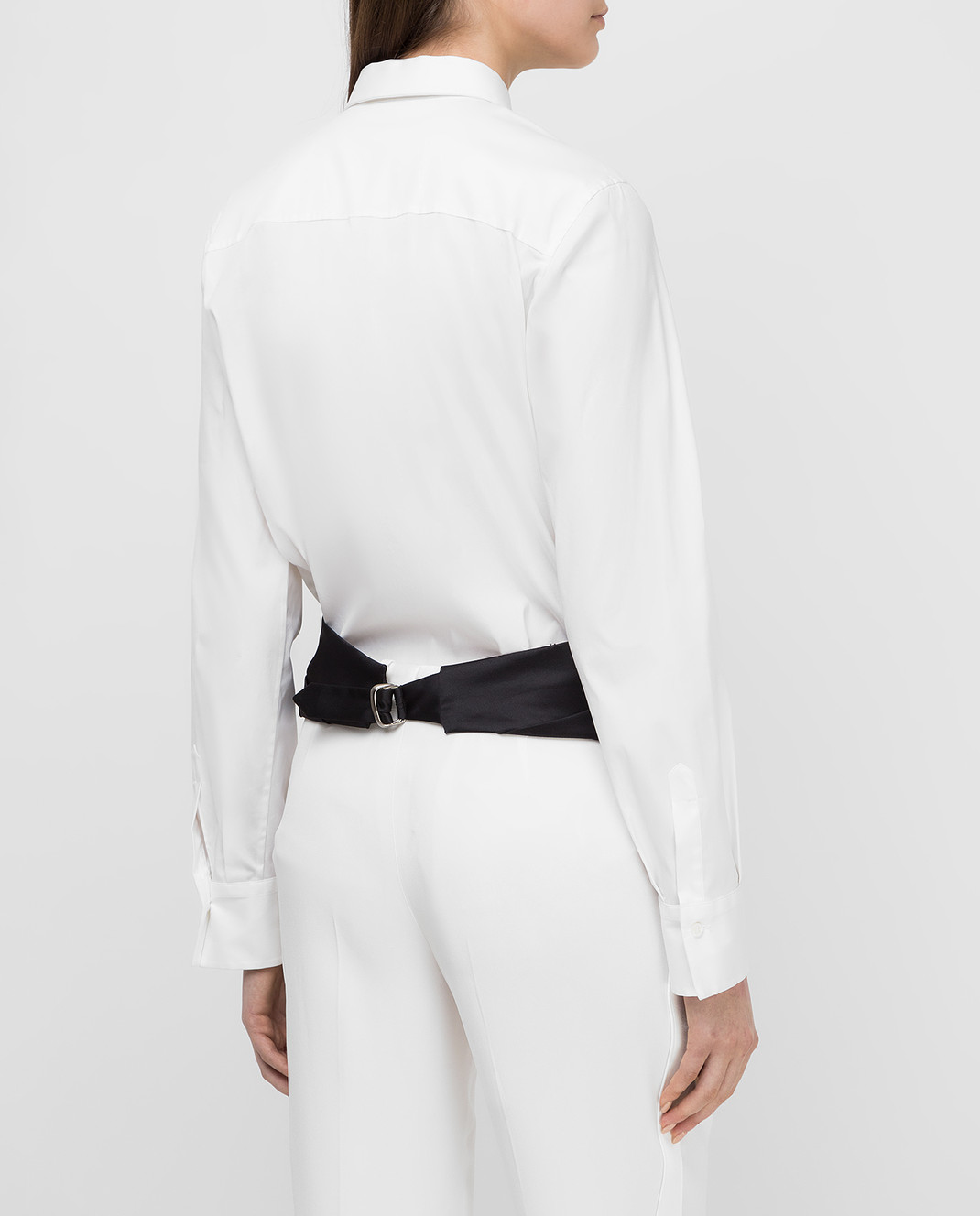 Brunello Cucinelli Белая рубашка M0091M6215 изображение 4