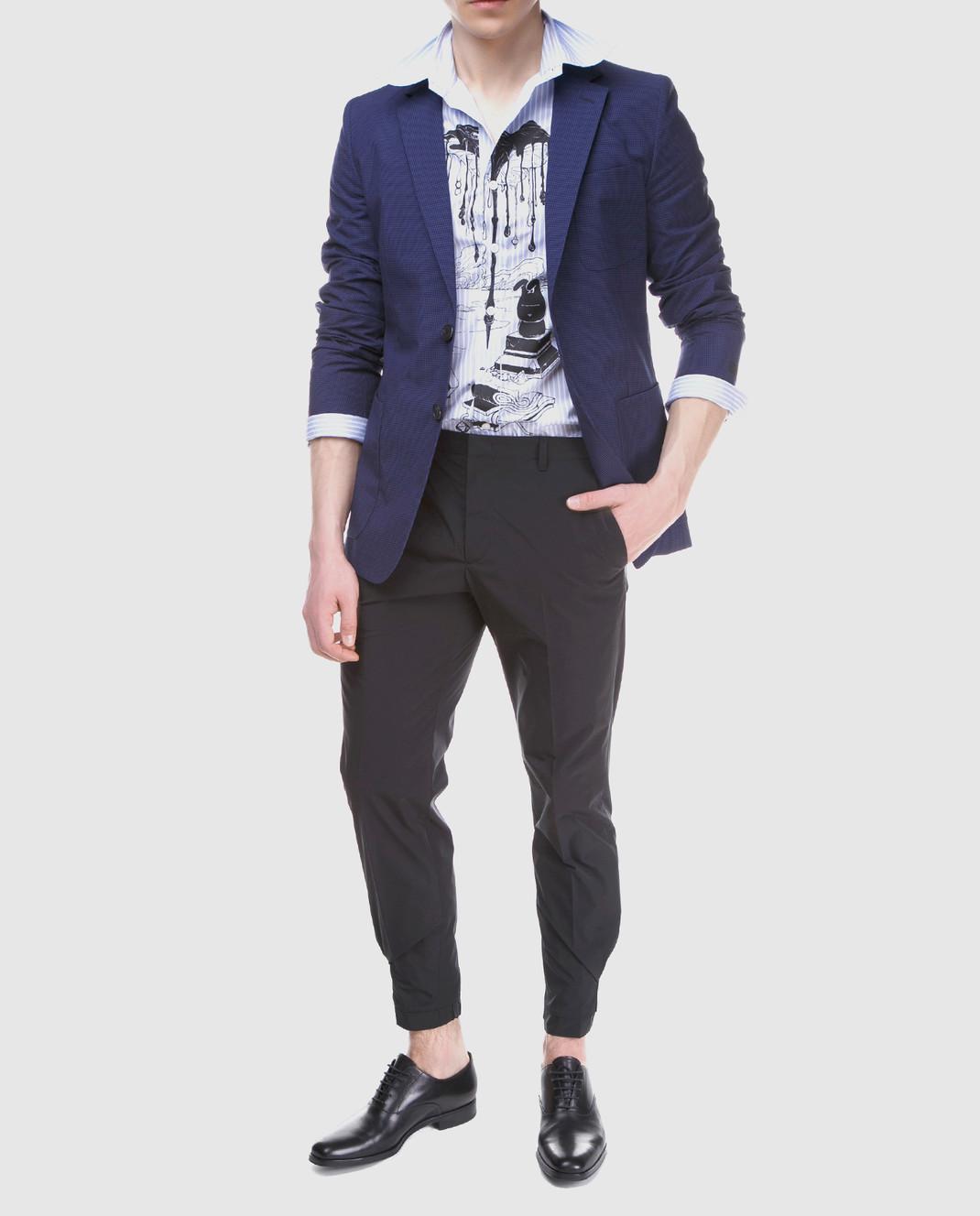 Prada Синий пиджак UGF003 изображение 2