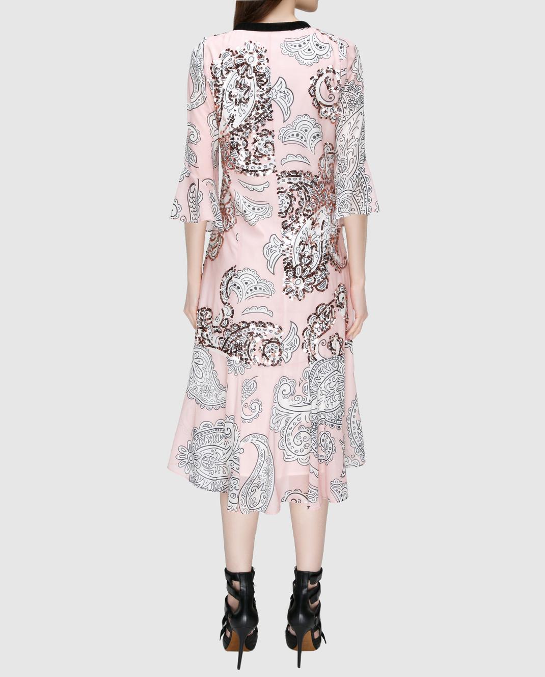 Manoush Персиковое платье ME7PPRO изображение 4