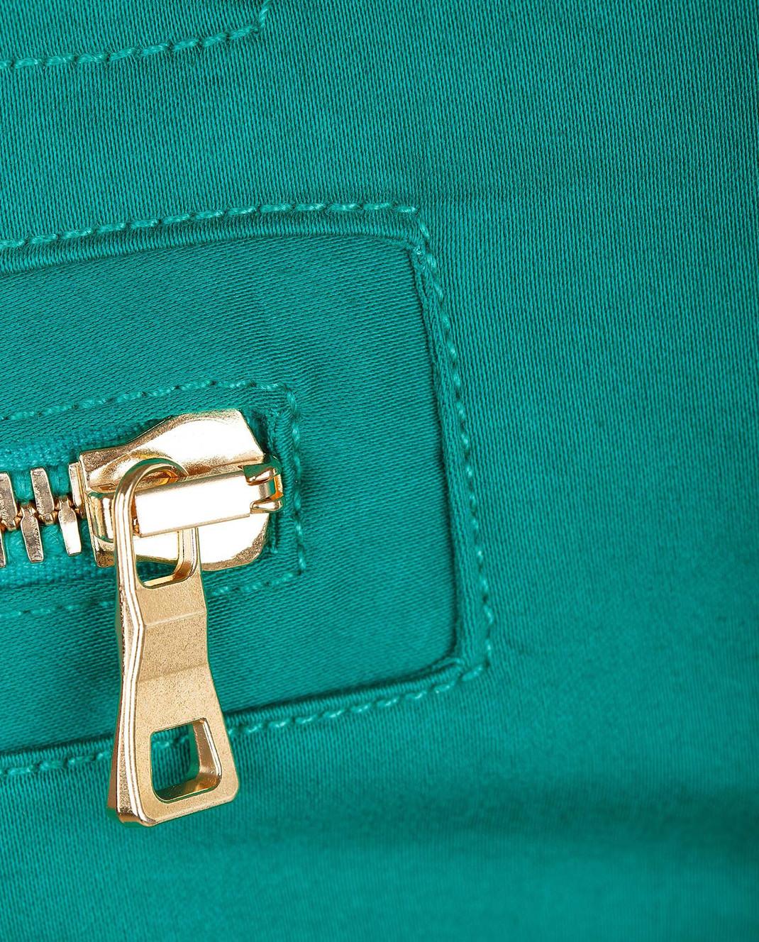 Balmain Зеленые брюки 5356347N изображение 5