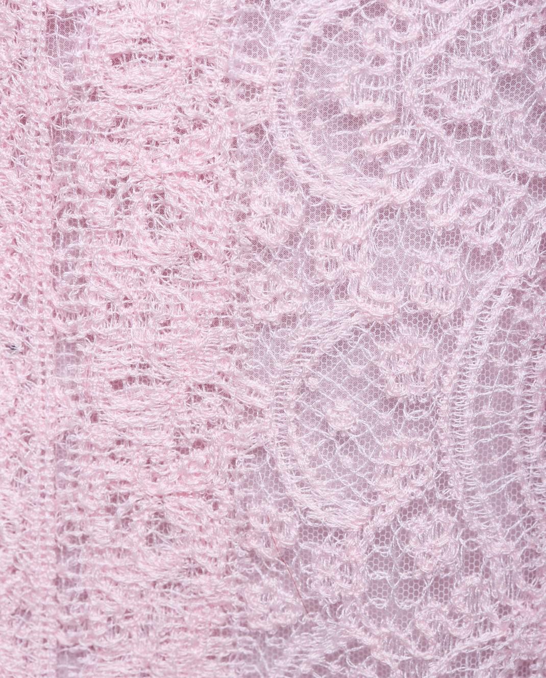 Ermanno Scervino Розовая юбка D312O707FDHUM изображение 5