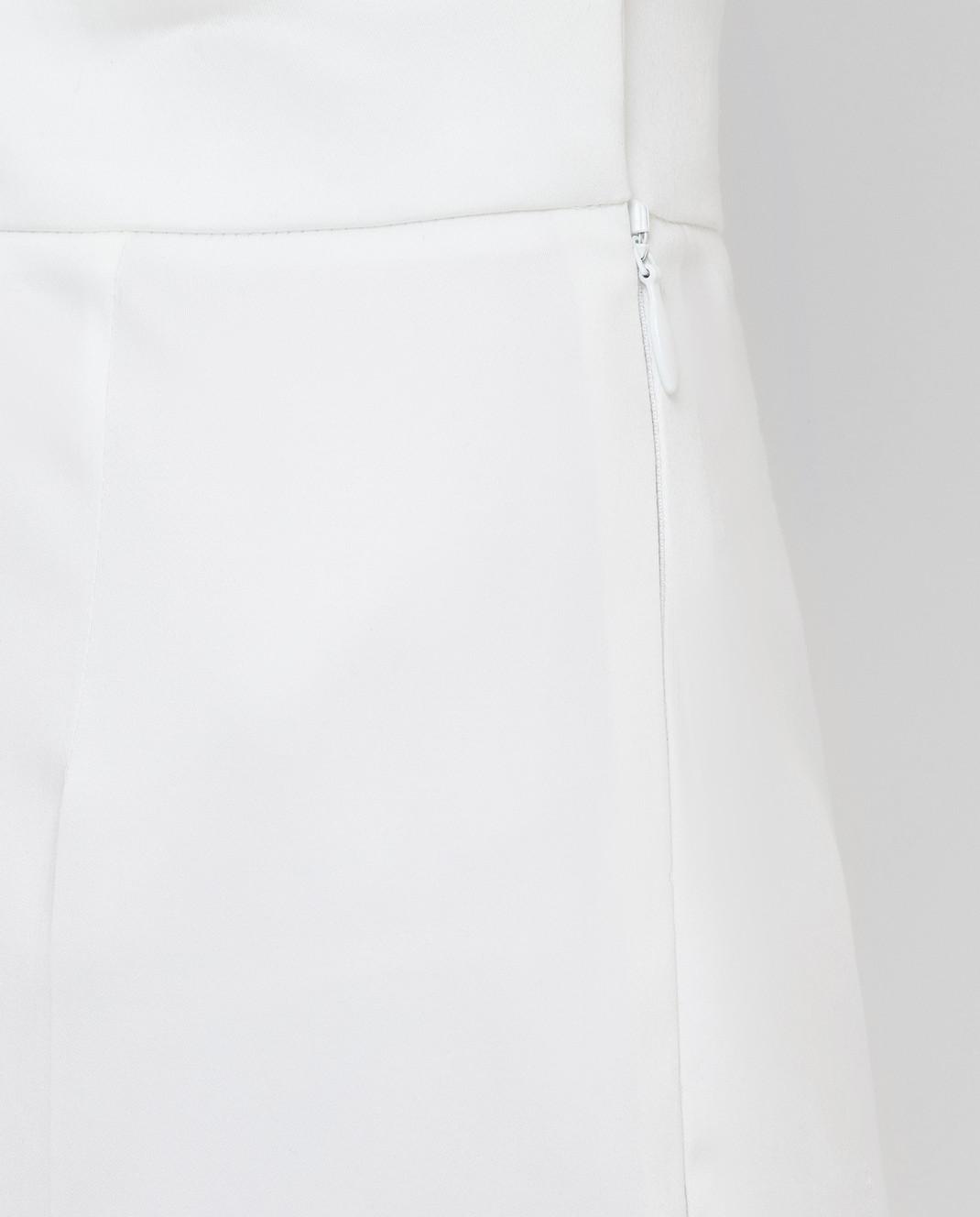 Prada Белые брюки P298C1VS4 изображение 5