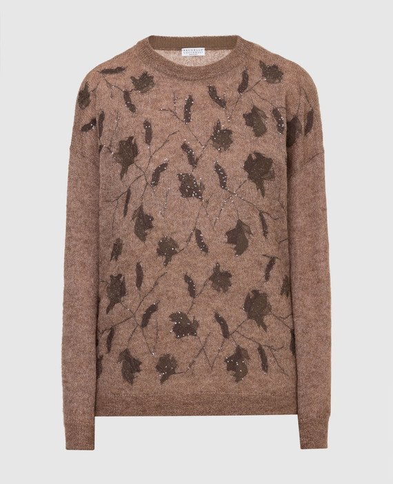 Темно-бежевый свитер