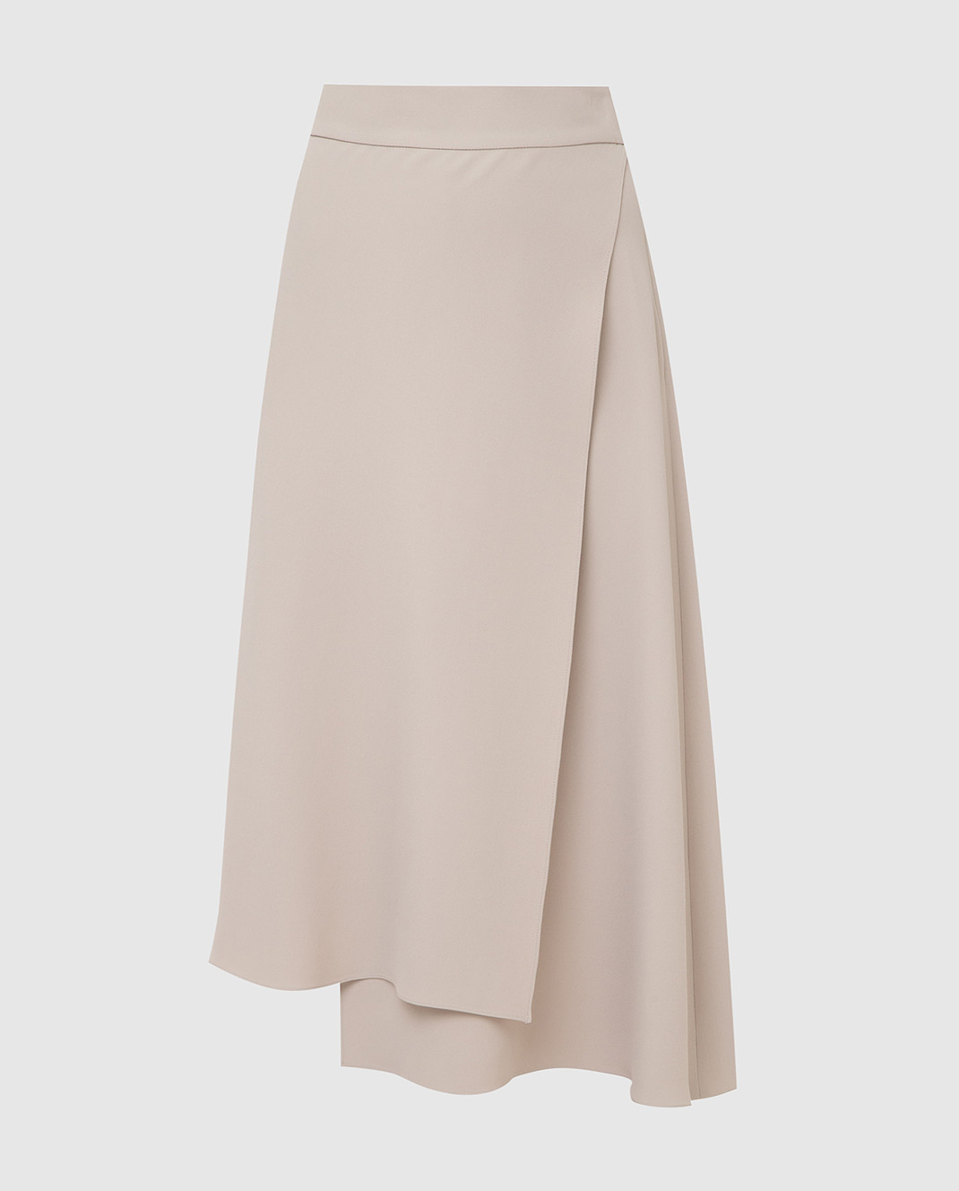 Brunello Cucinelli Светло-бежевая юбка изображение 1