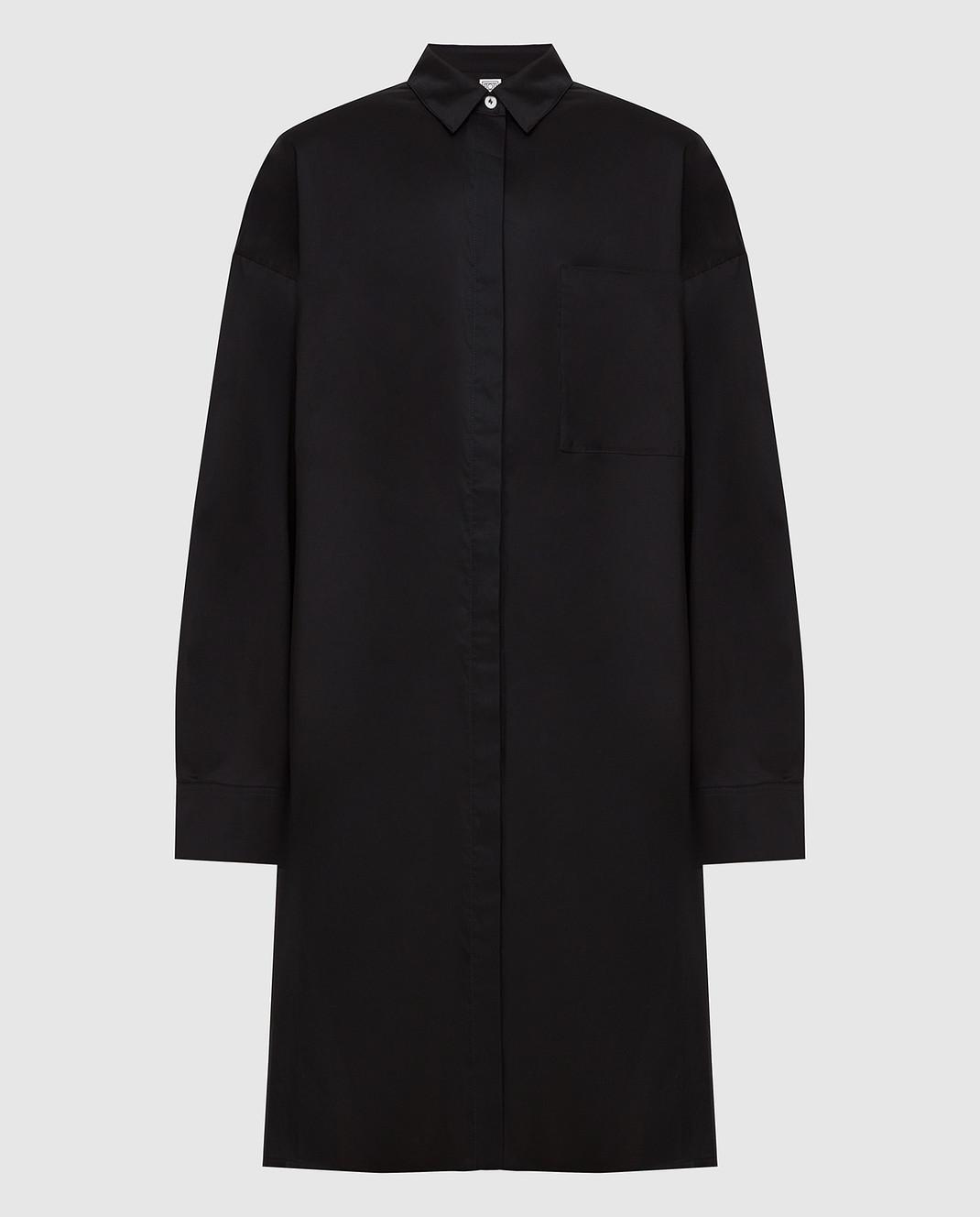 Toteme Черное платье изображение 1