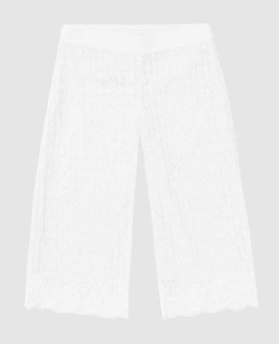 Детские белые брюки