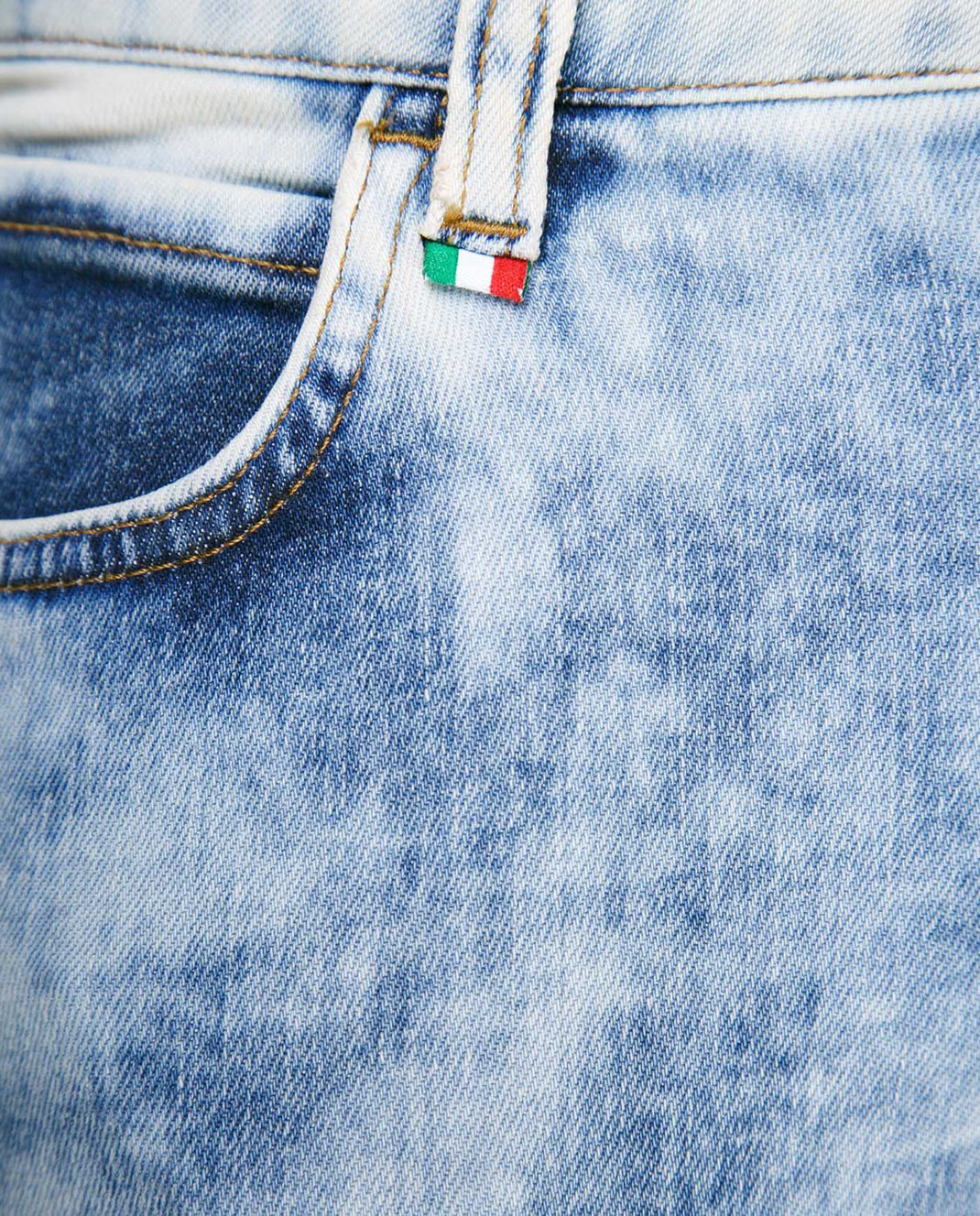 Philipp Plein Голубые джинсы WDT0360 изображение 3