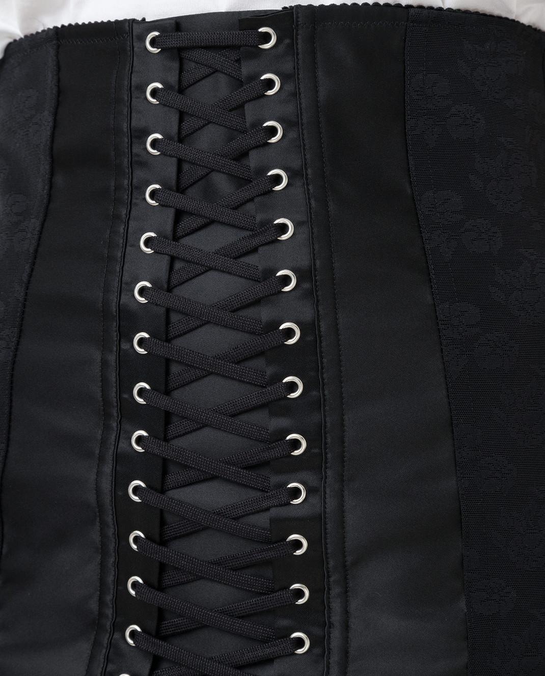 Dolce&Gabbana Черная юбка изображение 5