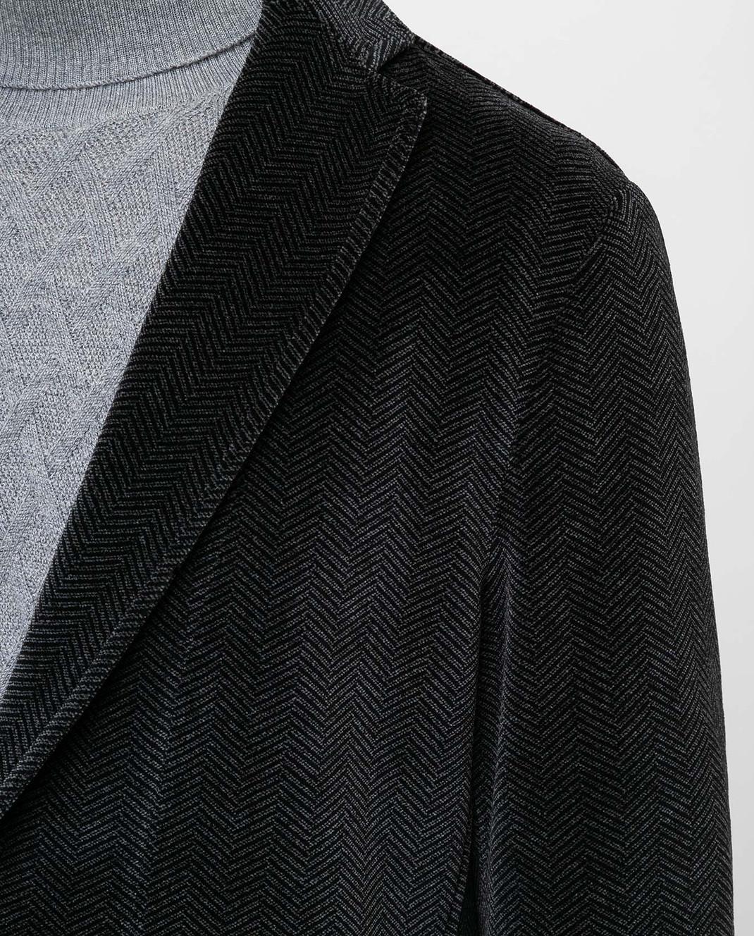 Fradi Серый пиджак 192POSTAGE6607 изображение 4