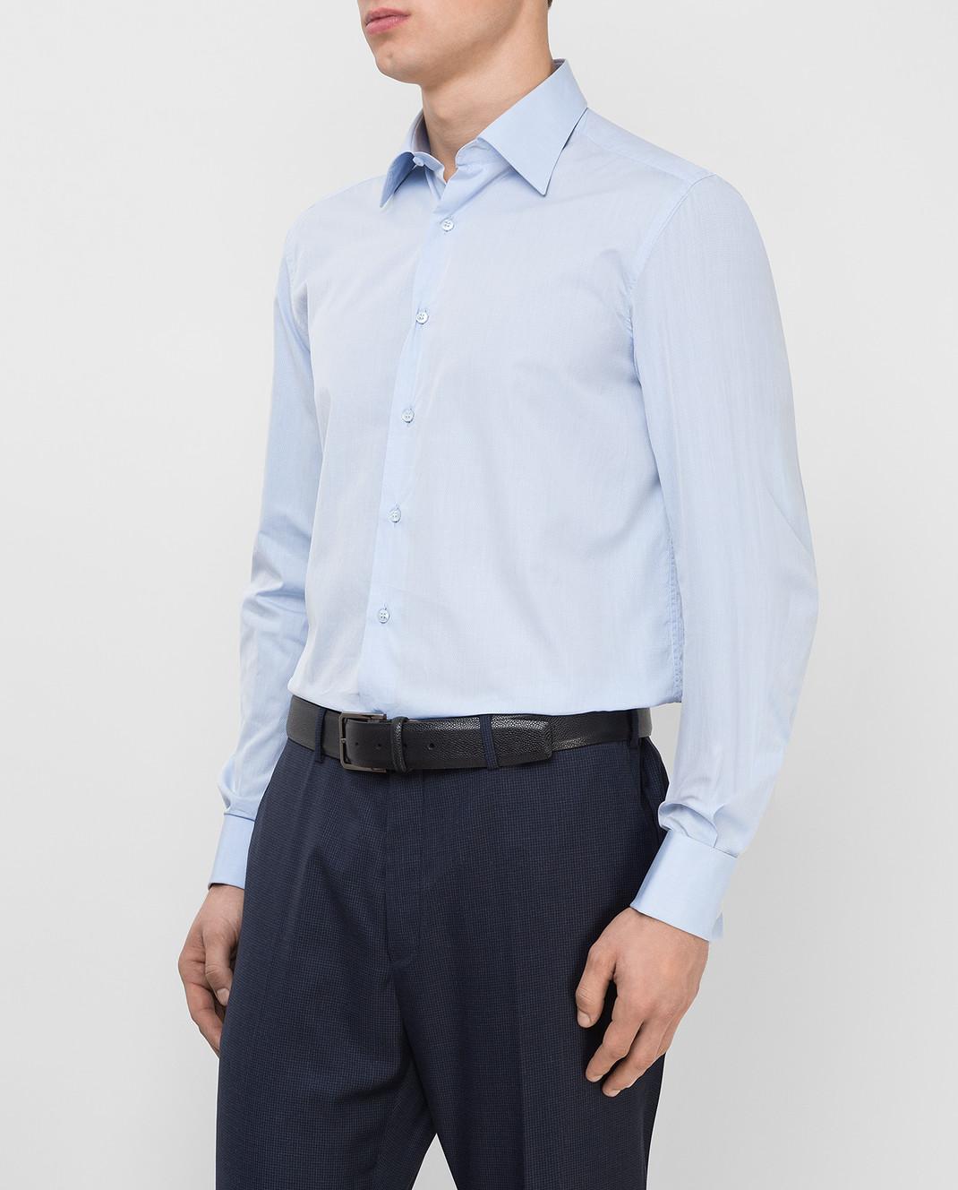 Stefano Ricci Голубая рубашка MC000591L1601 изображение 3