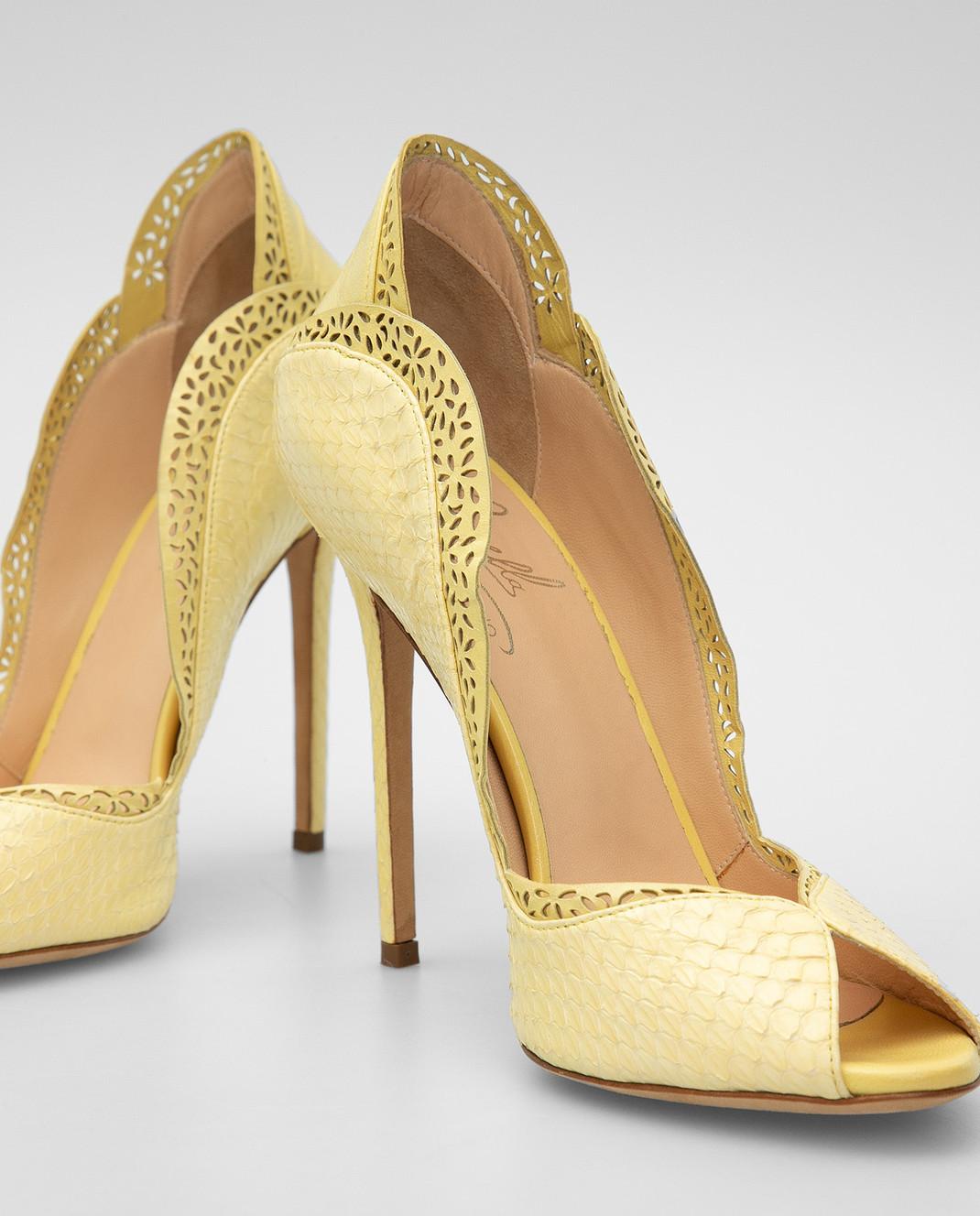 Cerasella Желтые туфли DANAEELAPHE4242 изображение 5