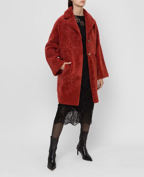 Терракотовое пальто hover
