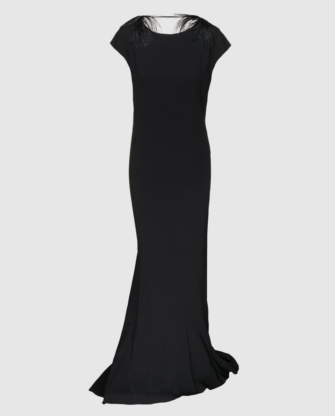 Brunello Cucinelli Черное платье MA970AE661