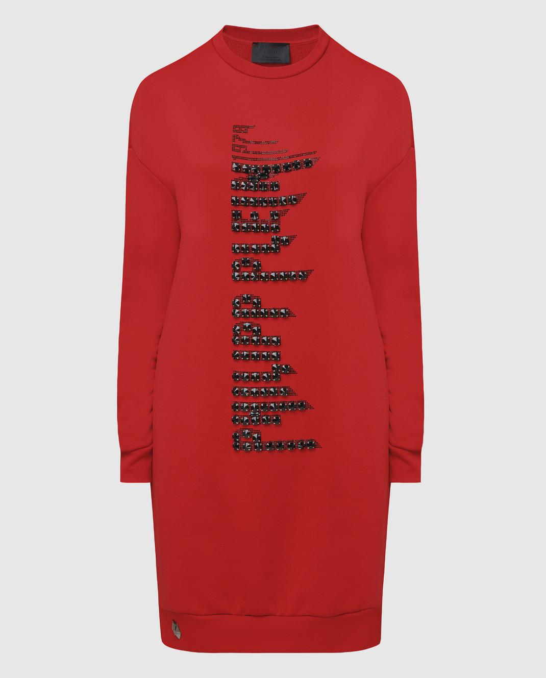 Philipp Plein Красное платье WJO0373