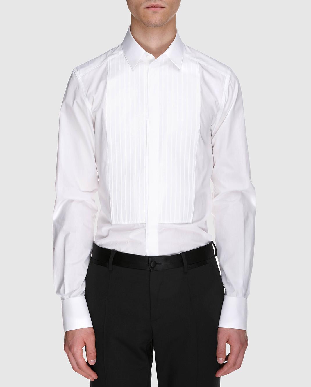 Dolce&Gabbana Белая рубашка G5FL5TGEC81 изображение 3