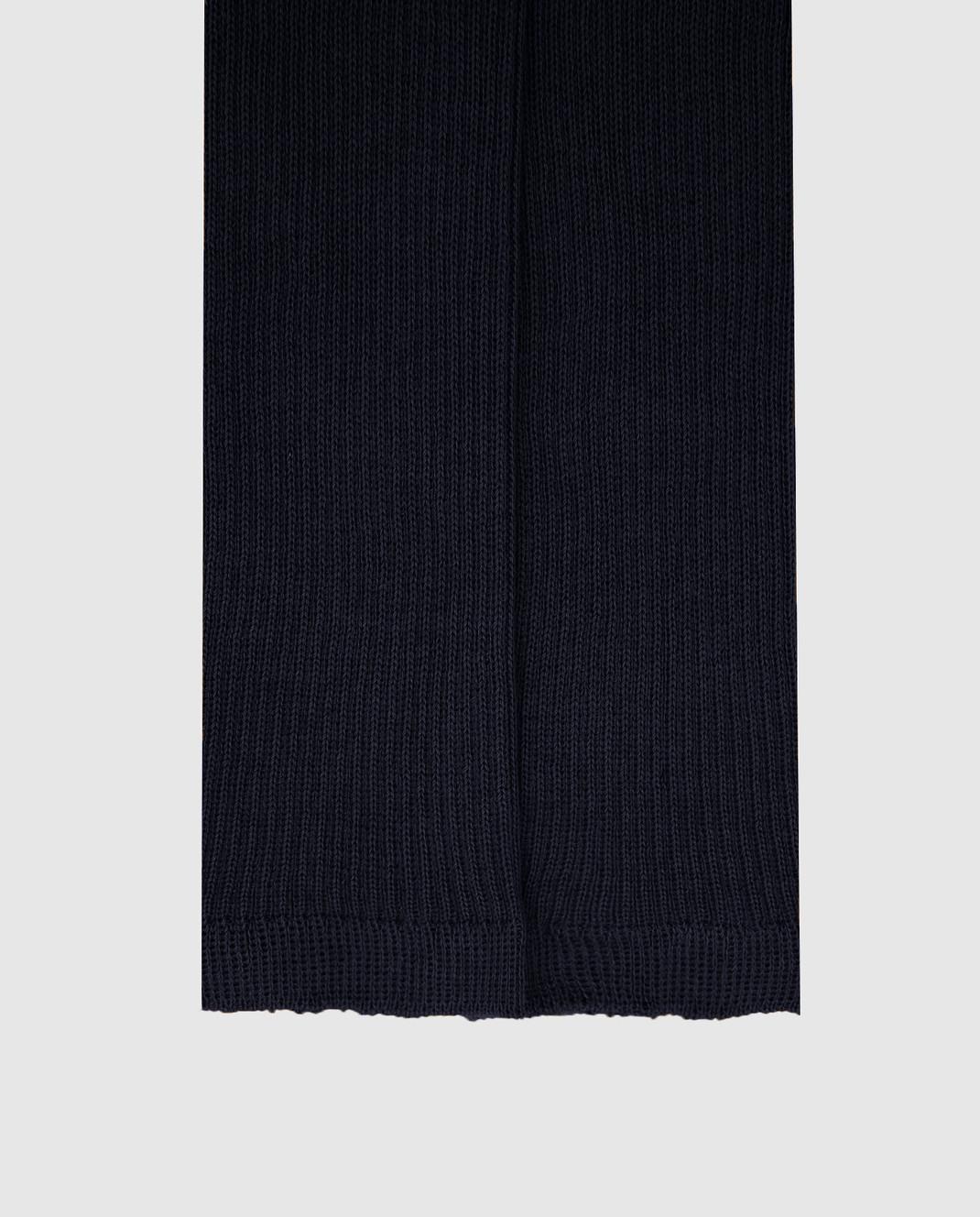 Max Mara Weekend Темно-синие носки изображение 3