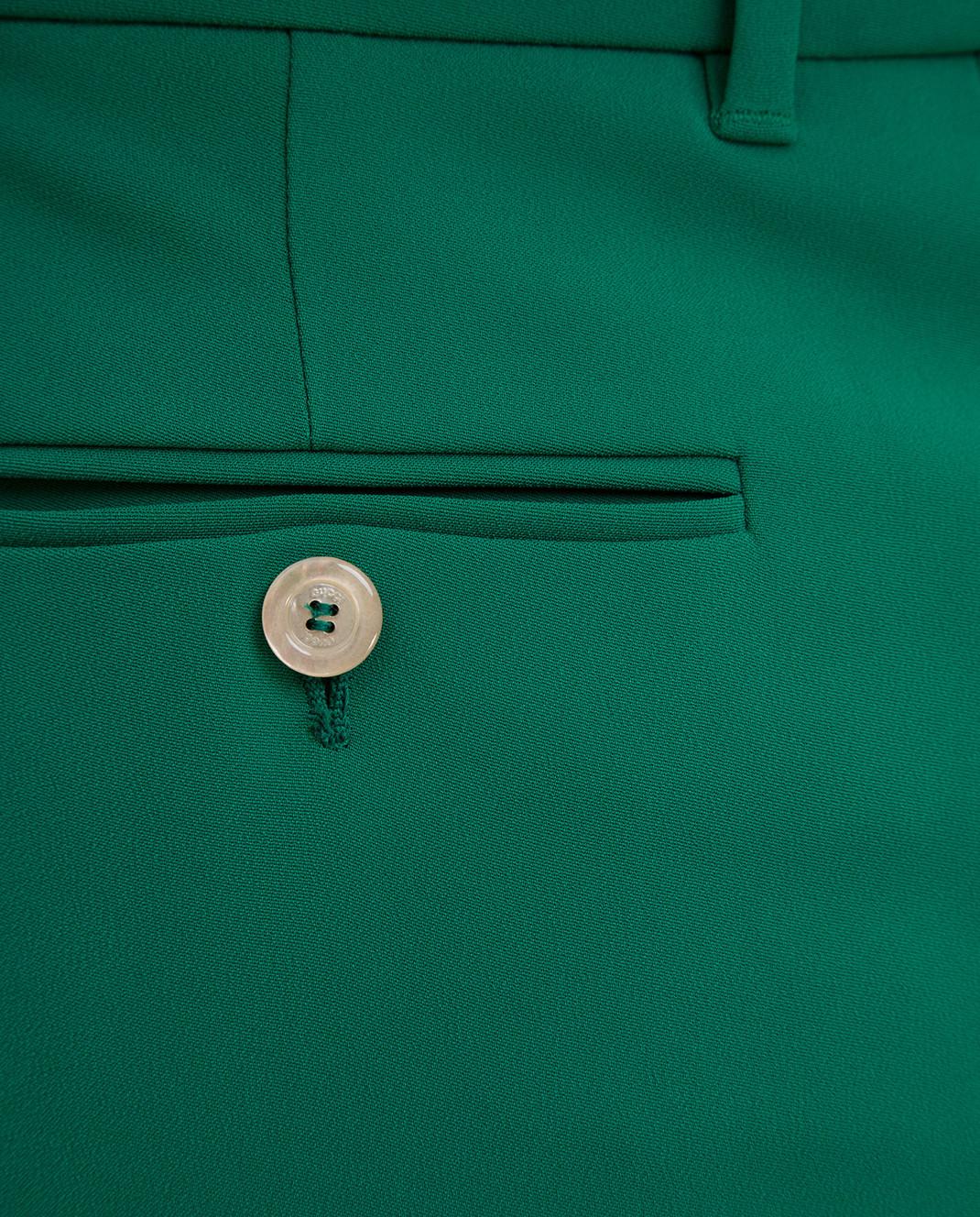Gucci Зеленые брюки изображение 5