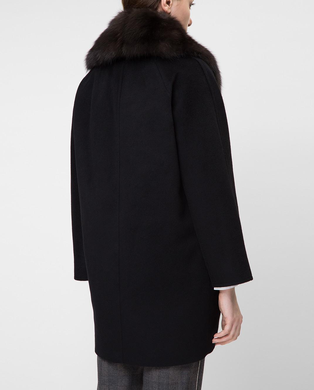Real Furs House Пальто со съемным мехом QSR433 изображение 4