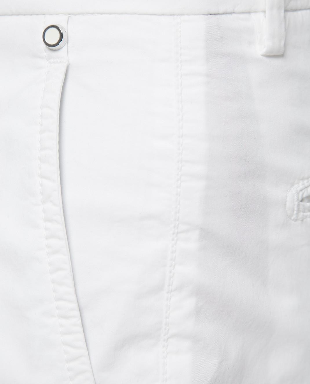 Kiton Белые брюки UPCAPRJ07R90 изображение 5