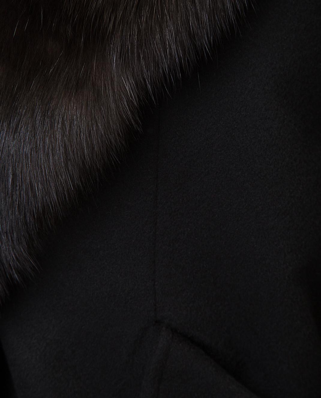 Real Furs House Пальто со съемным мехом QSR433 изображение 5
