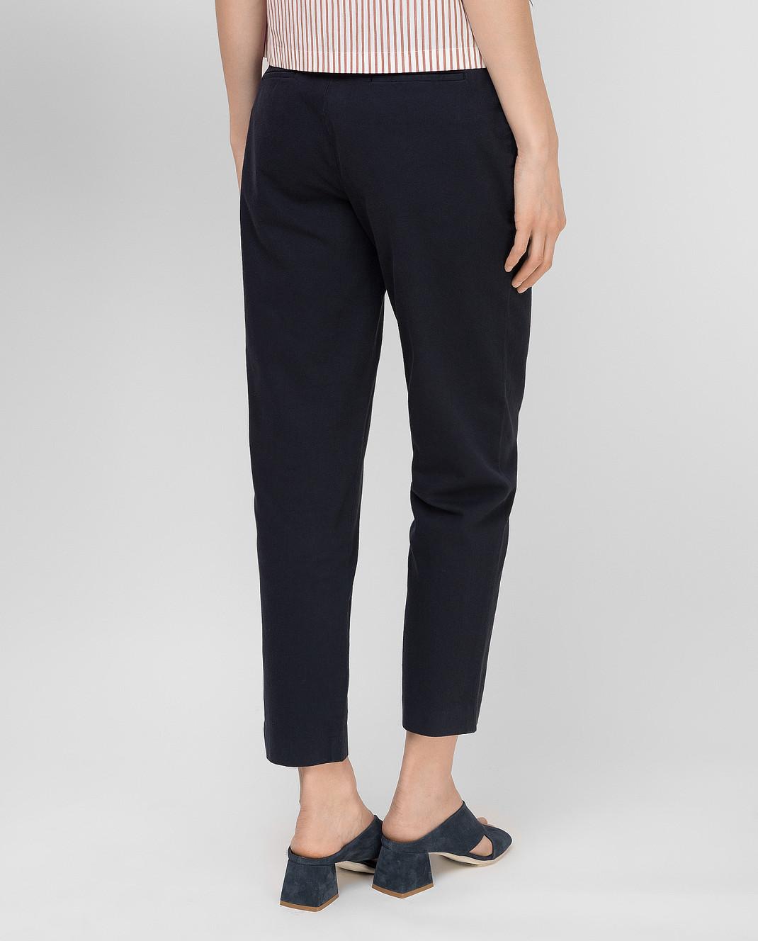 Loro Piana Темно-синие брюки F1FAI5089 изображение 4