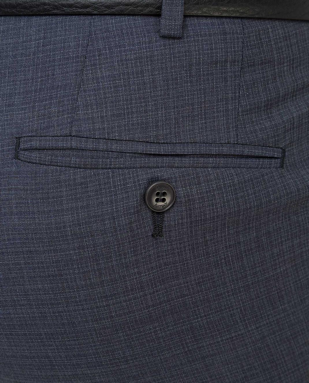Brioni Темно-серые брюки из шерсти RPL80PP7AW7 изображение 5
