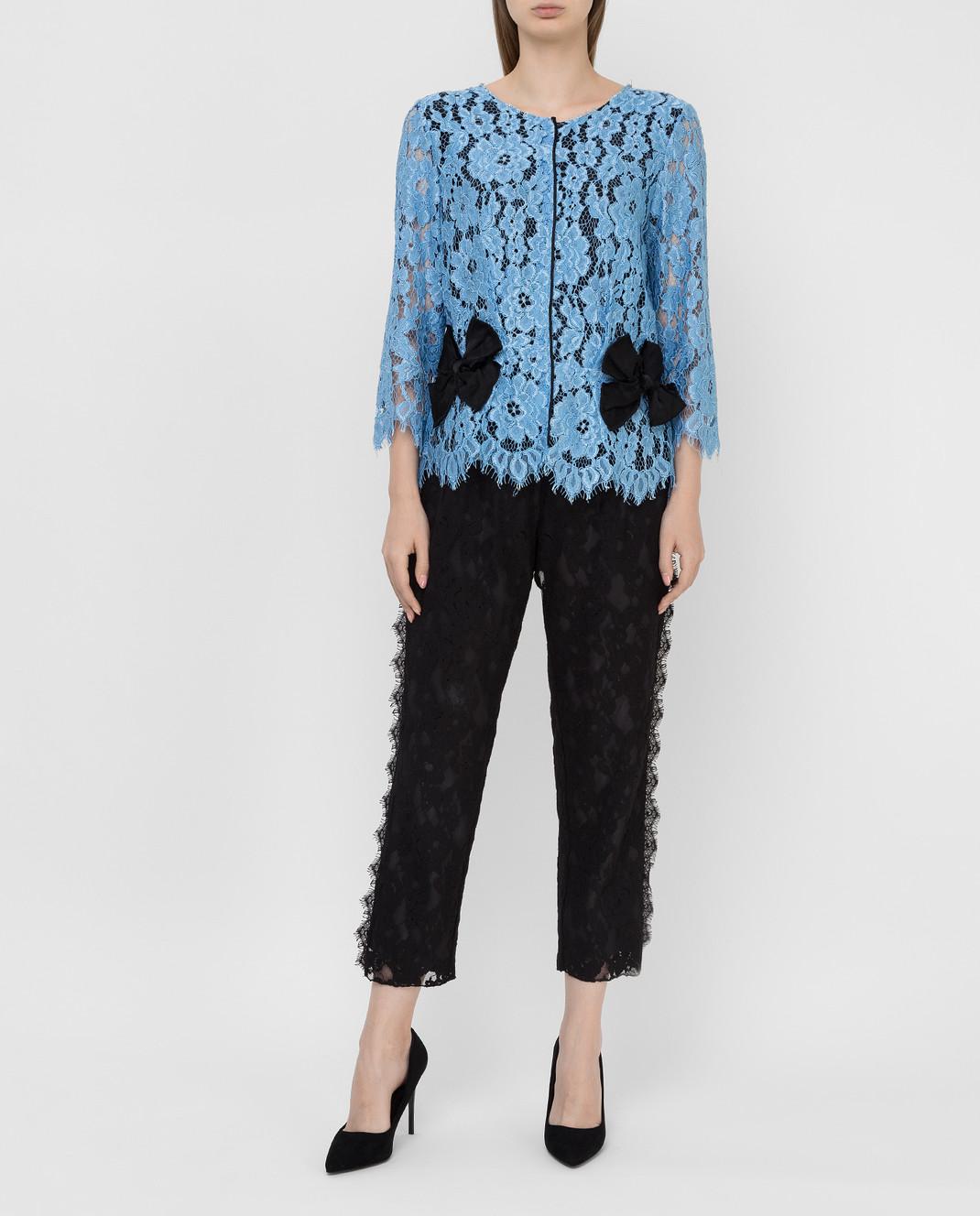Marc Jacobs Голубая блуза M4005733 изображение 2