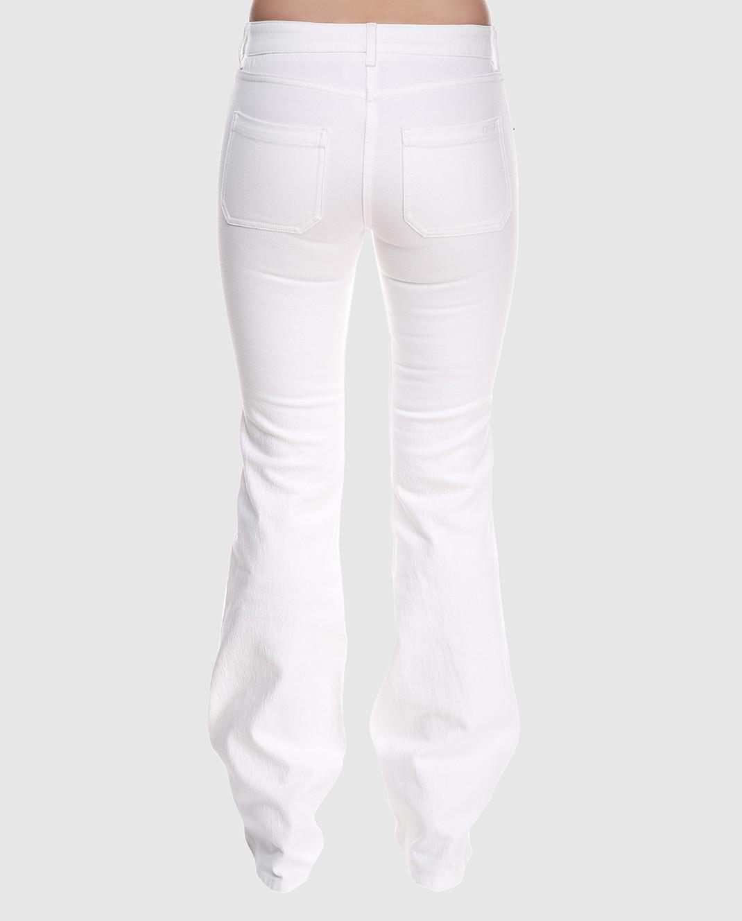 Chloe Белые джинсы 18SDP70154 изображение 4