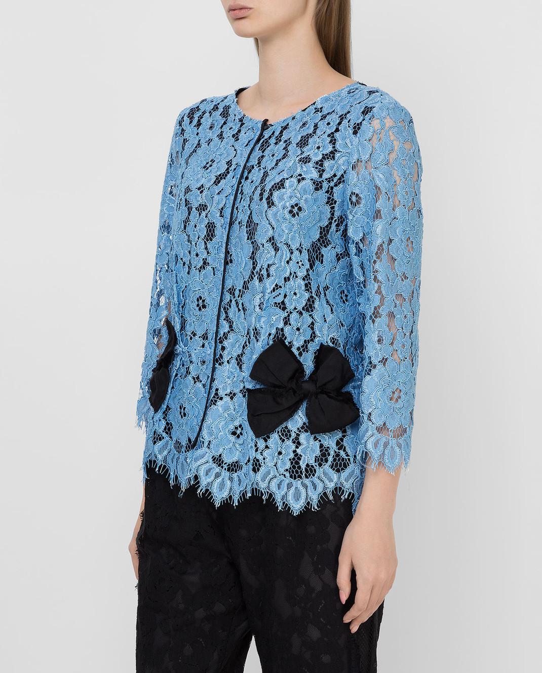 Marc Jacobs Голубая блуза M4005733 изображение 3