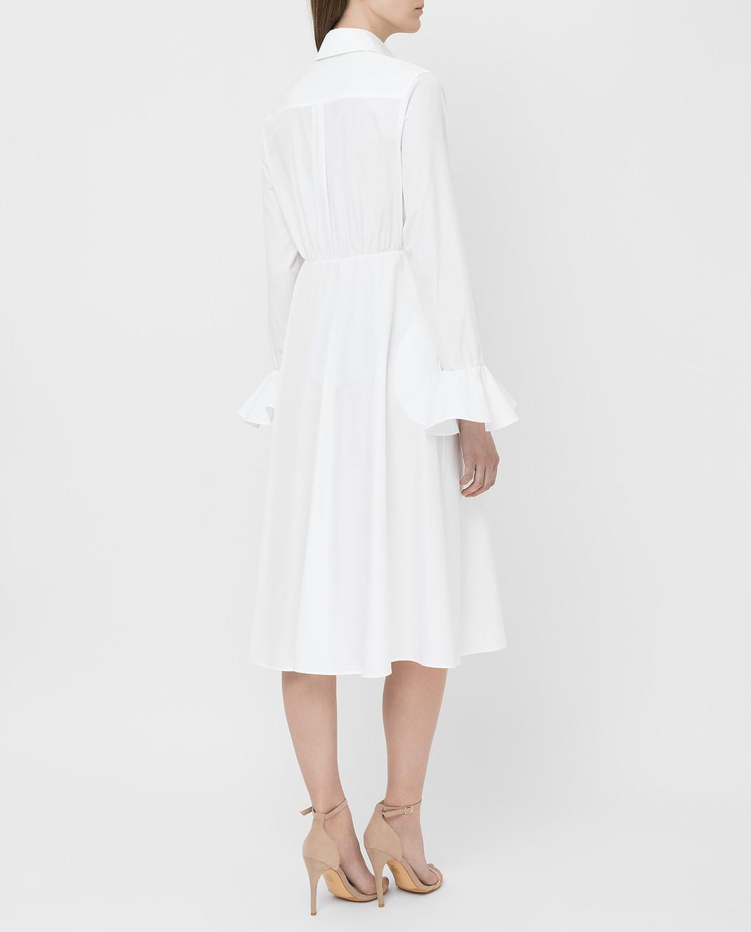 Valentino Белое платье TB3VAR204HP изображение 4