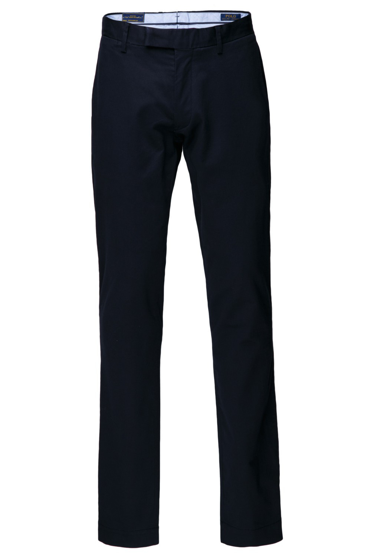 Синие брюки-чинос