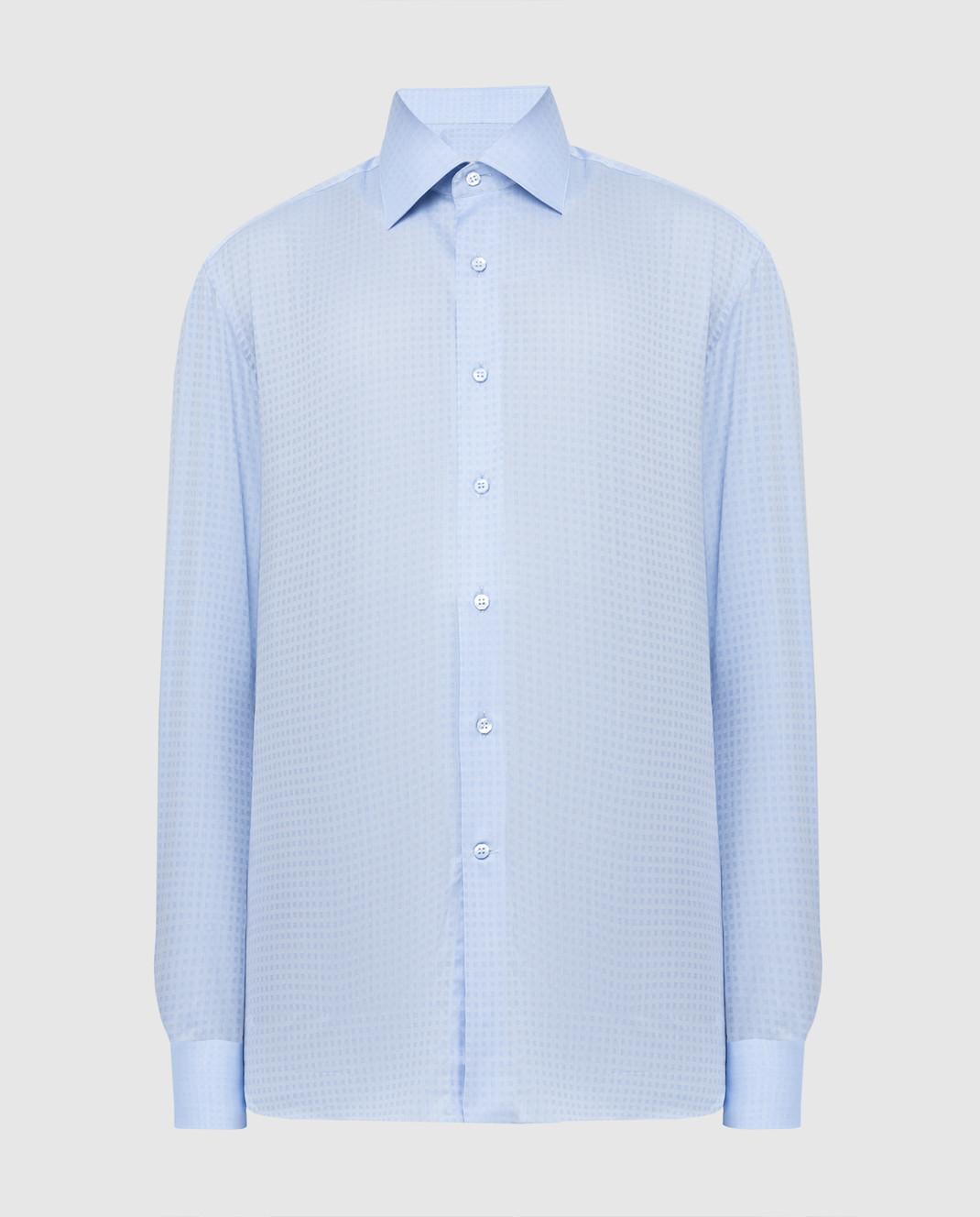 Stefano Ricci Голубая рубашка изображение 1