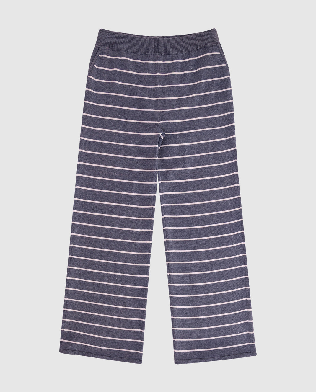 Loro Piana Детские серые брюки F1FAI0610
