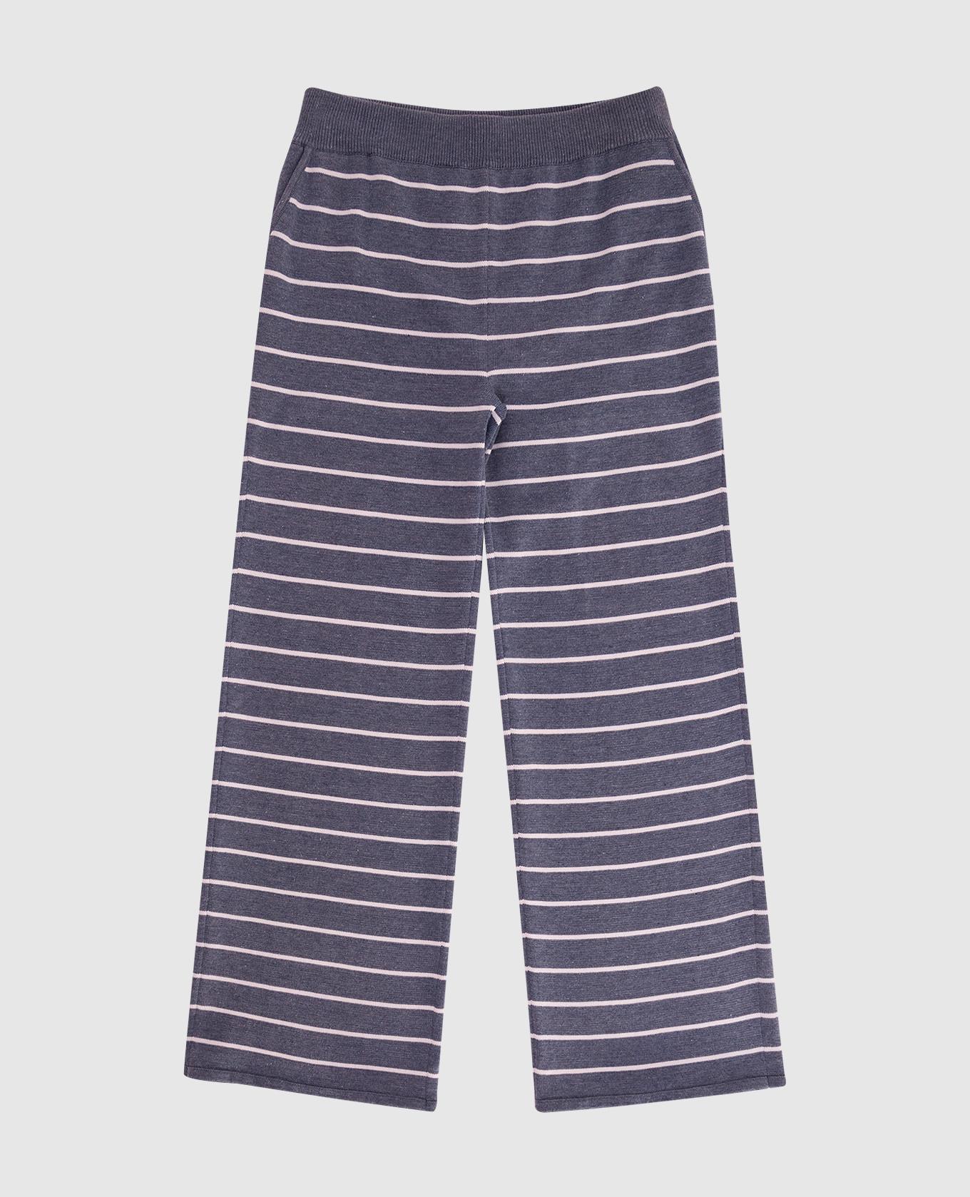 Детские серые брюки