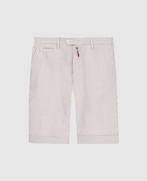 Бежевые шорты