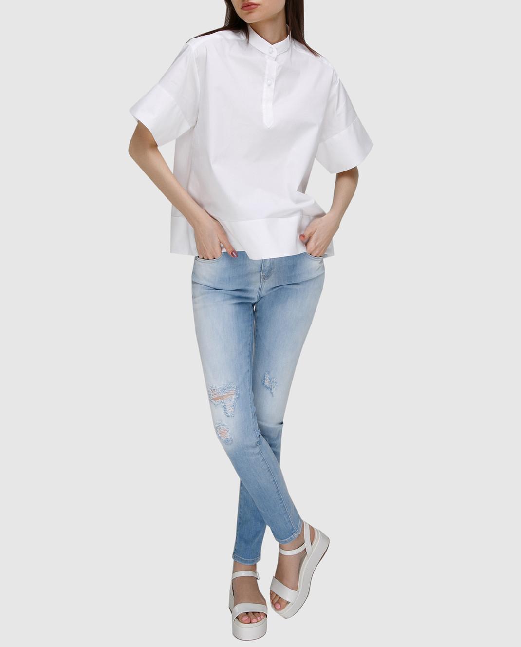 FAY Голубые джинсы NTW8234524LOJN изображение 2
