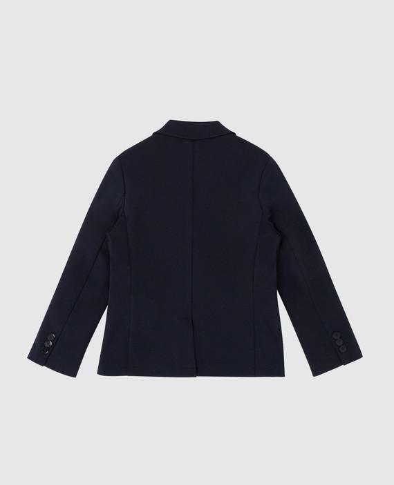 Детский темно-синий пиджак hover
