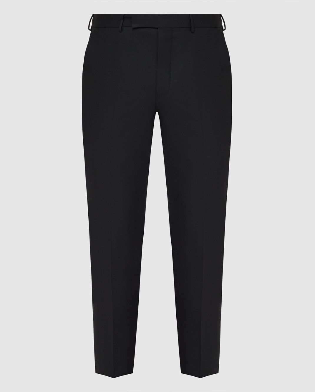 Ermenegildo Zegna Черные брюки из шерсти изображение 1
