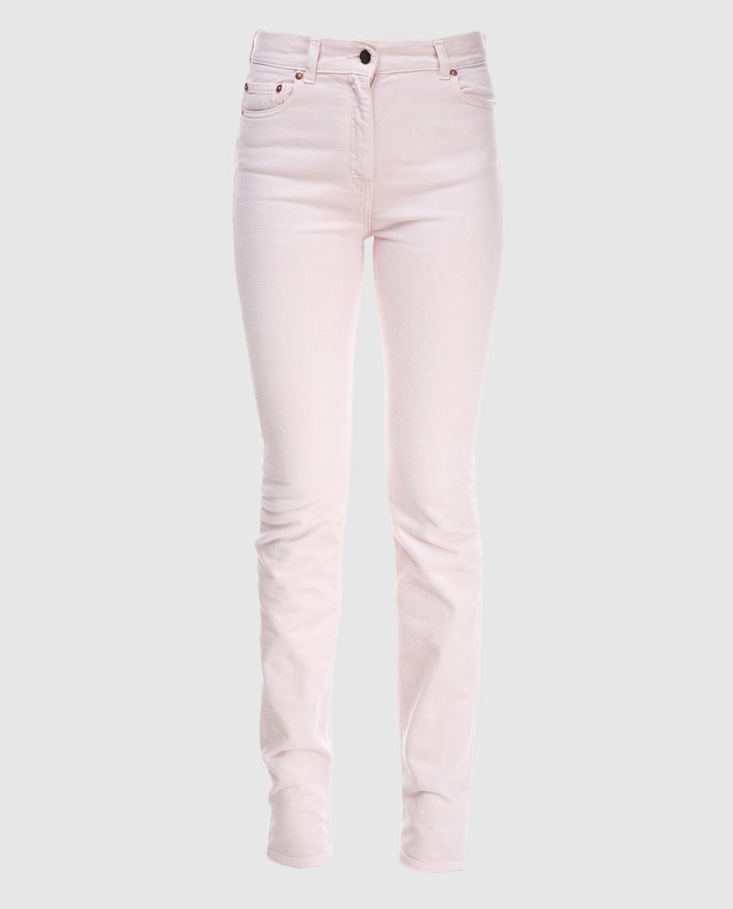 Valentino Пудровые джинсы PB0DD06J3WC