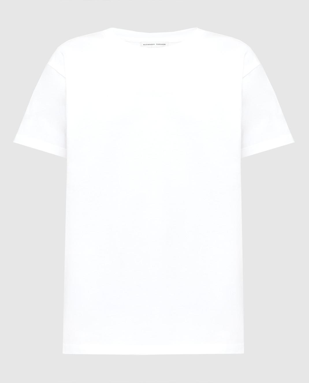 Alexander Terekhov Белая футболка TSH039PRED