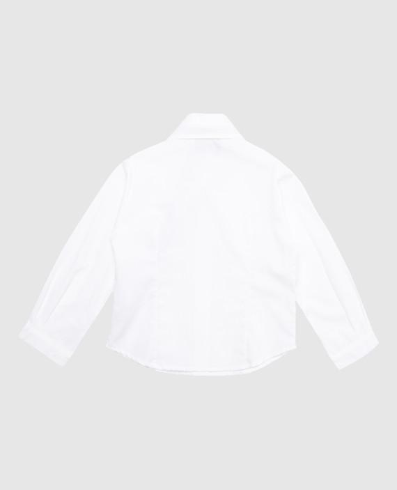 Детская белая блуза hover