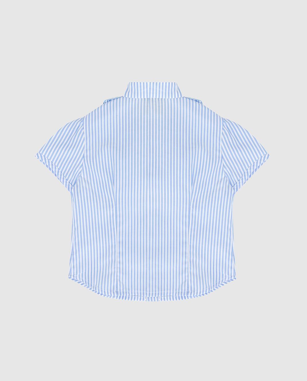 CAF Детская голубая рубашка 72RI24 изображение 2