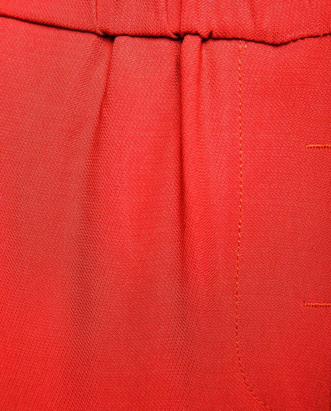 Peserico Красные брюки P04136 изображение 5