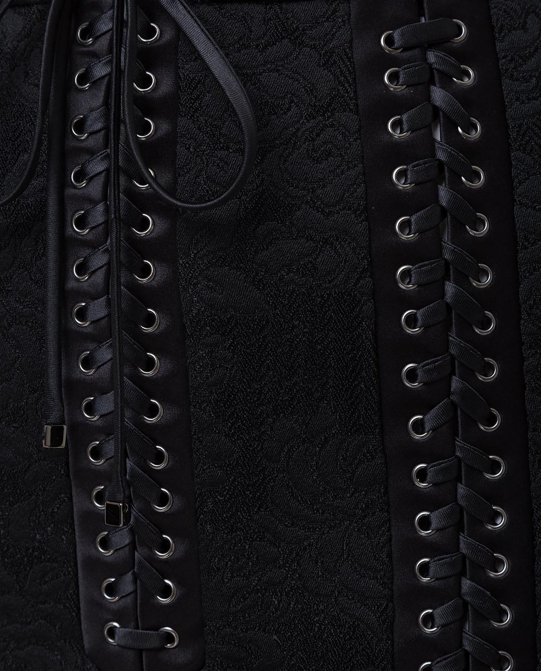 Dolce&Gabbana Черная юбка F4BIGTFJRCP изображение 5