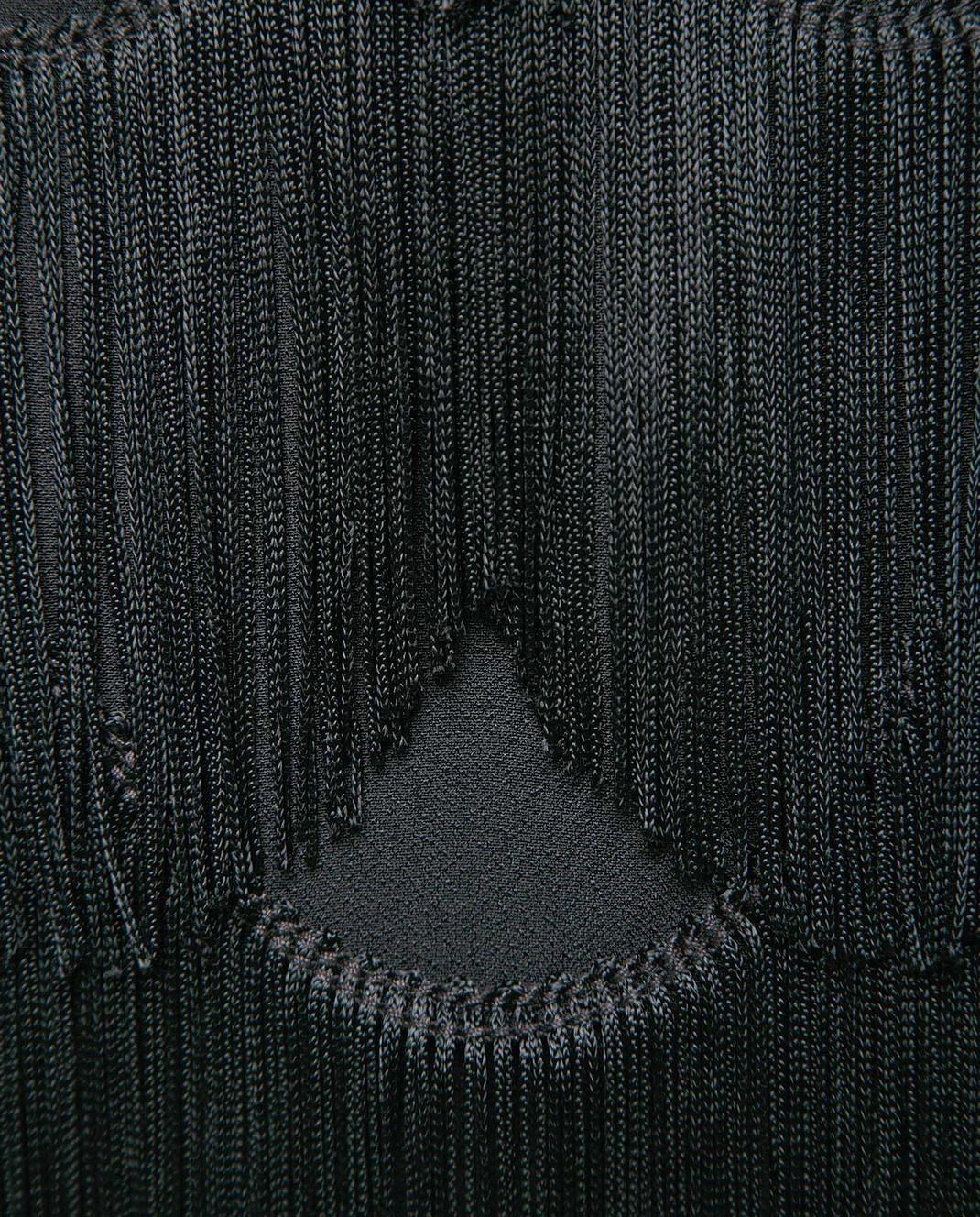 Marc Jacobs Черная юбка с бахромой M4007189 изображение 5