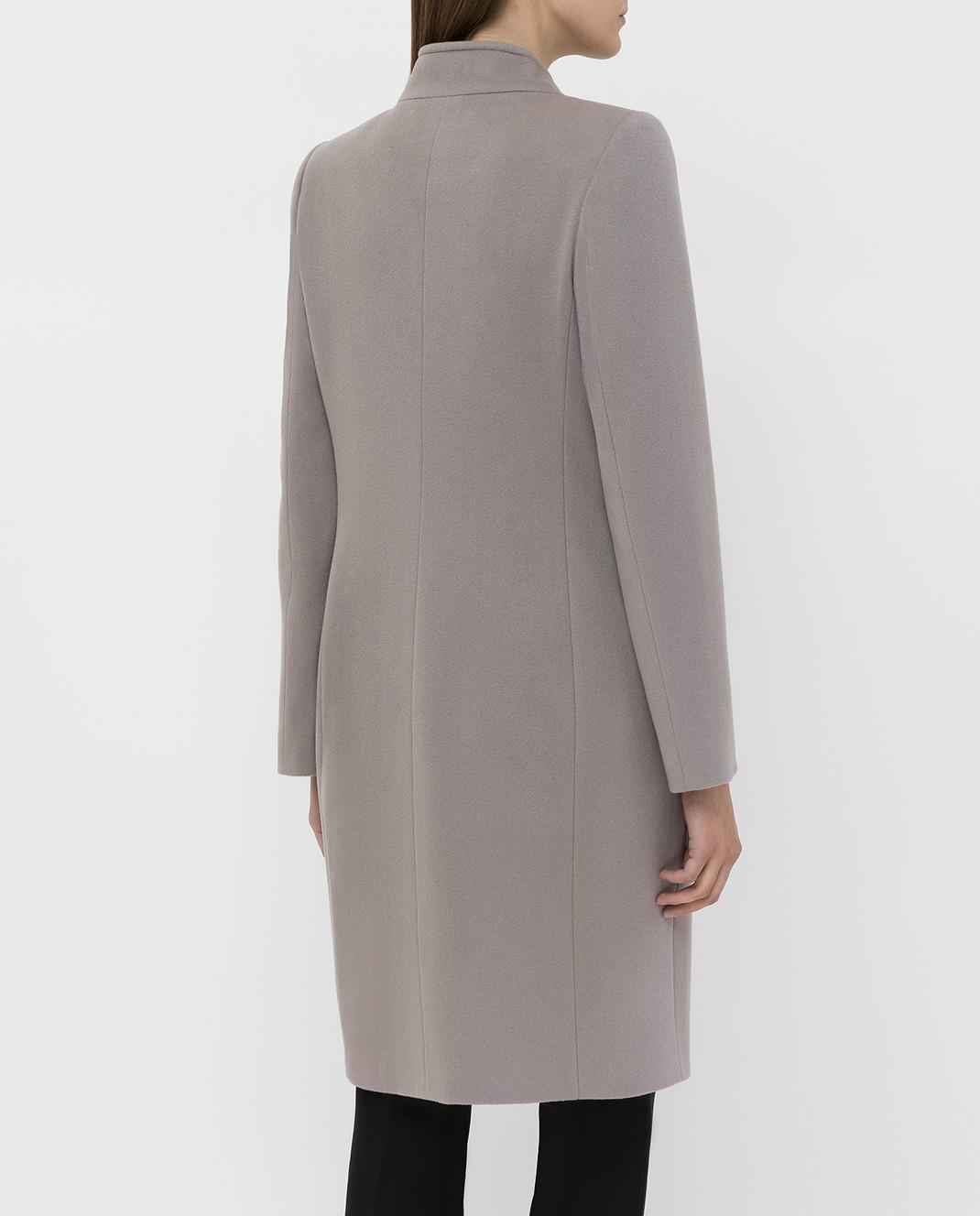 Heresis Серое пальто из шерсти изображение 4