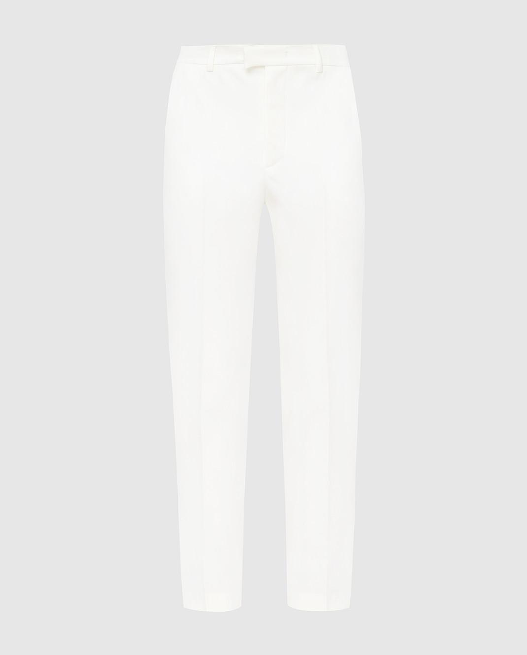 Red Valentino Белые брюки RR3RB0B0WBP