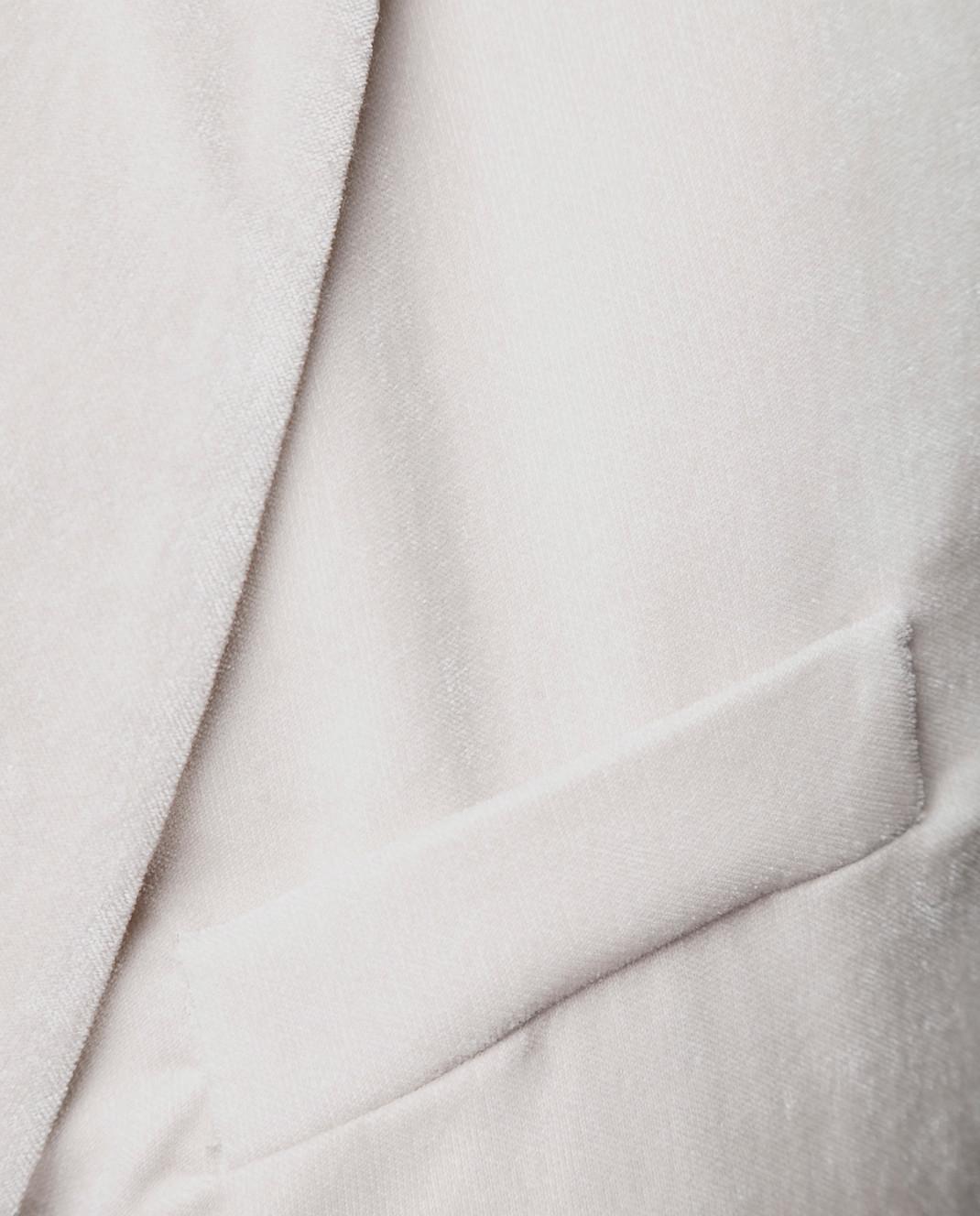 Peserico Светло-серый жакет S0173302826 изображение 5