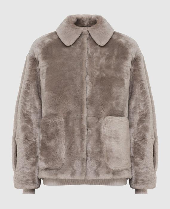 Двухсторонняя куртка с мехом